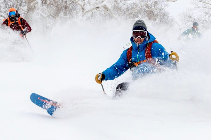 Learn to ski powder (lessons) - Activities